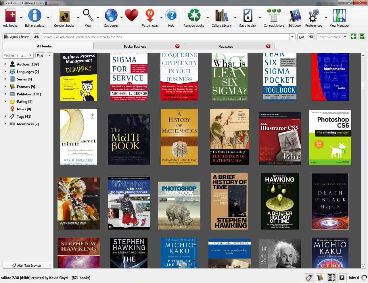 Calibre library | - Everything About eBooks
