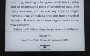 Kindle Reading Progress Image