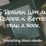 6 reasons why an ebook reader is better than a book