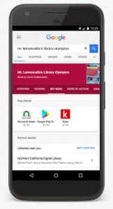 Google ebooks search mobile screenshot