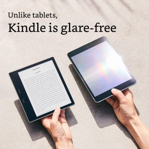 Kindle is glare-free