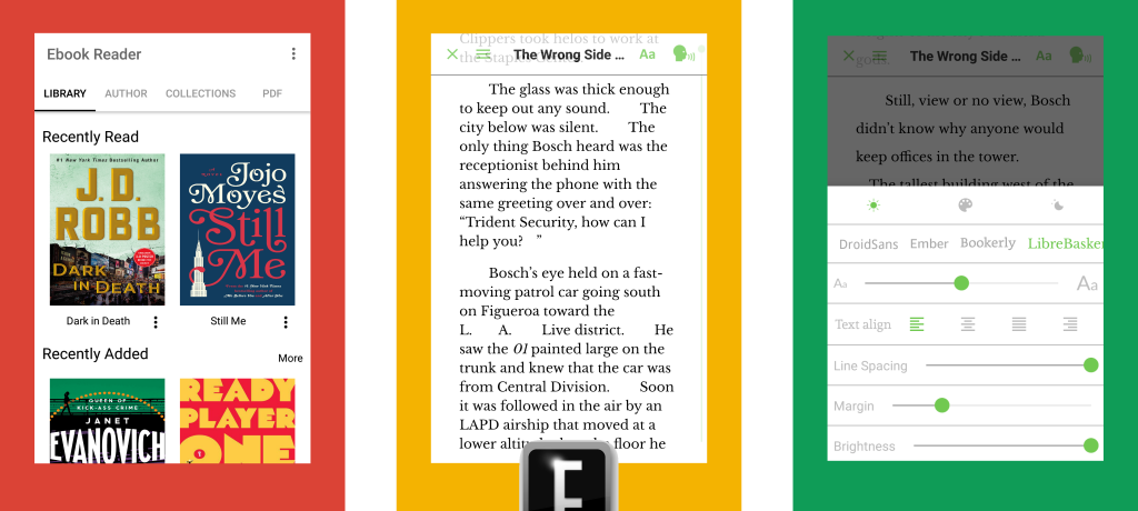 Audio Reader By eBook Reader Screenshots