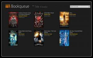 Bookqueue app for reading bestseller books screenshot