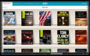 Kobe eReader app for eBooks screenshot