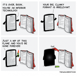 eBooks vs Physical Books: the Importance of Choice
