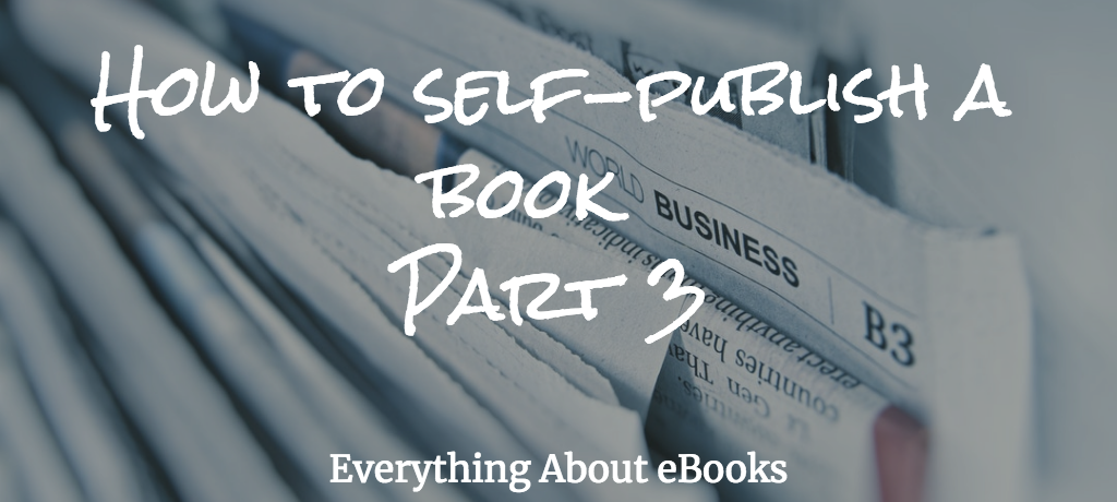 self-publish a book 3 title
