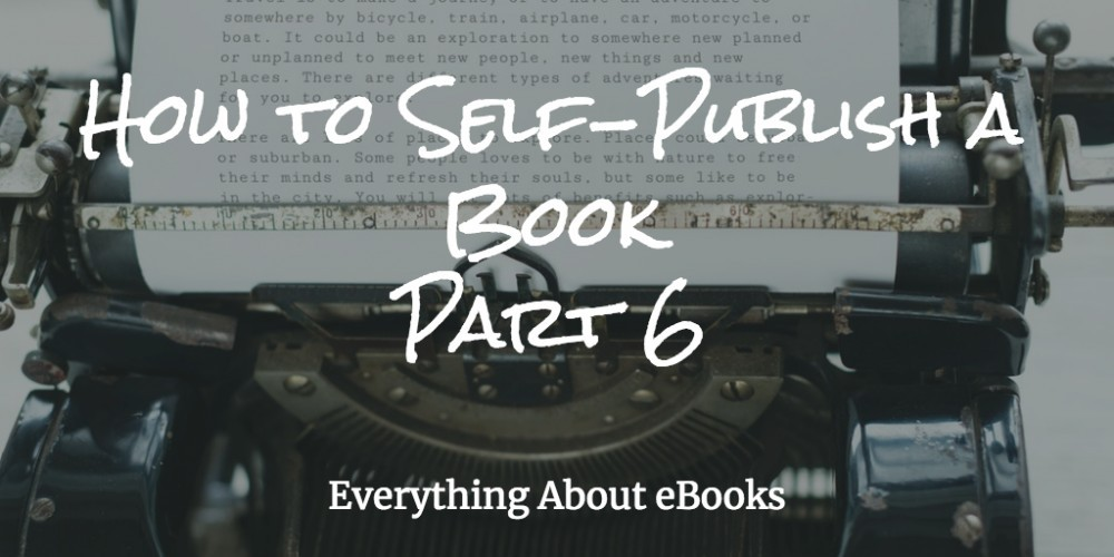 How To SelfPublish a Book 6 Image