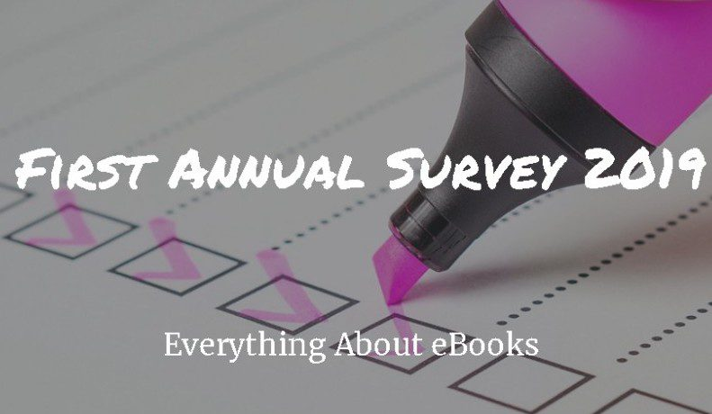 Everything About eBooks First Annual Survey