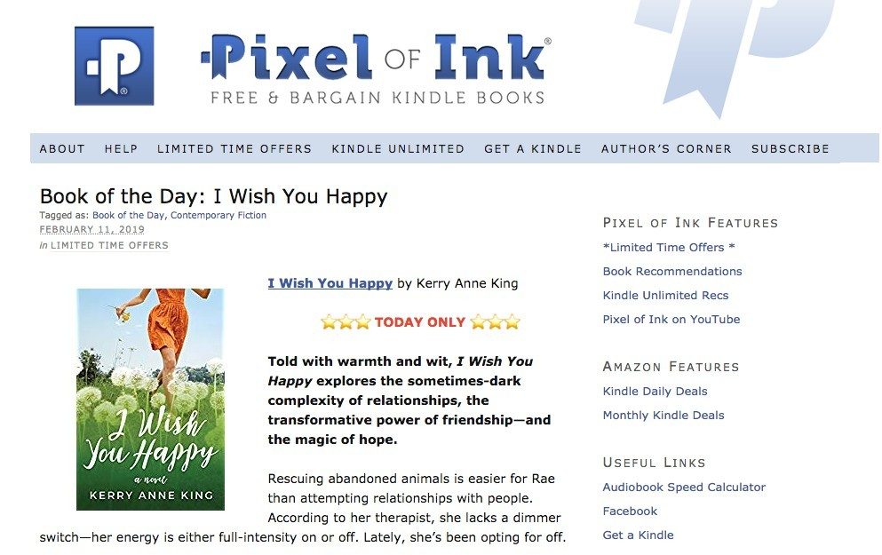Pixel of Ink Home Page